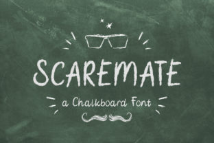 Print on Demand: Scaremate Display Fuente Por TypeFactory