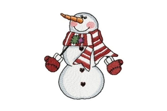 Snowman Jeremiah Winter Embroidery Design By Sew Terific Designs