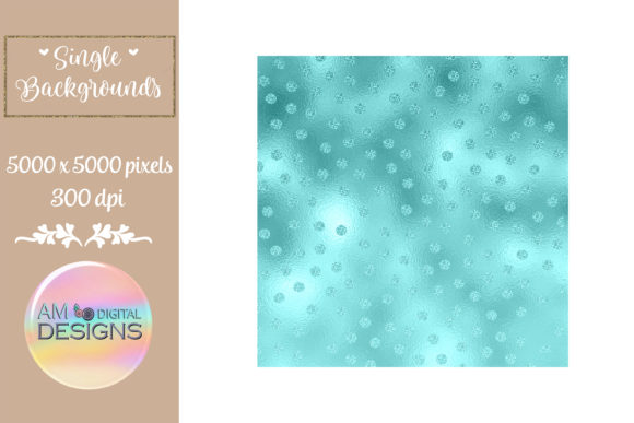 Sweet Paradise Gradient Foil Polka Dots Graphic Backgrounds By AM Digital Designs