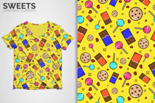 Sweets Seamless Patterns Graphic Patterns By 3Y_Design 3