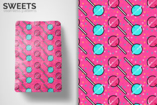 Sweets Seamless Patterns Graphic Patterns By 3Y_Design 4