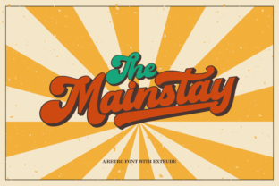 Print on Demand: The Mainstay Script & Handwritten Font By ahweproject