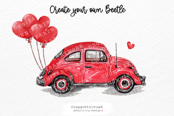 Valentine's Day Clipart Bundle Graphic Preview