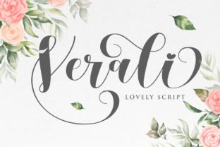 Print on Demand: Verali Script & Handwritten Font By Gilar Studio