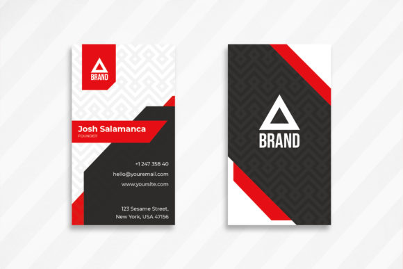 Print on Demand: Business Card Graphic Print Templates By uicreativenet