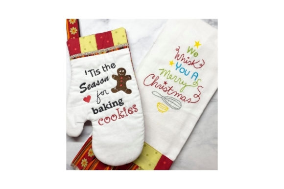 Christmas Kitchen Christmas Embroidery Design By Sookie Sews