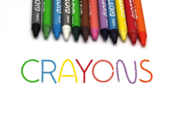 Print on Demand: Crayons Display Font By Vladimir Carrer