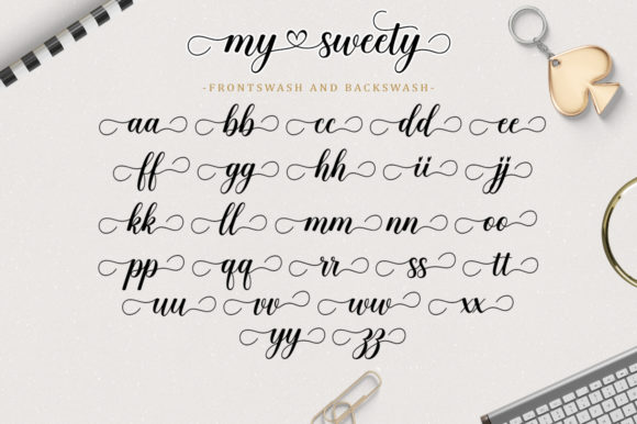 My Sweety Font Preview