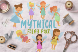 Mythical Fairy Pack Graphic Illustrations By Firefly Designs