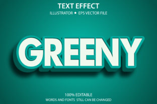 Text Style Effect Green Premium Graphic Graphic Templates By yosiduck