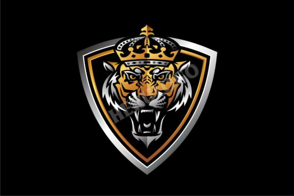 The Tiger King Graphic Logos By Herulogo