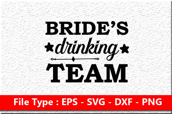 Print on Demand: Wedding Svg Design ,Bride's Drinking Tea Graphic Print Templates By Mou_graphics