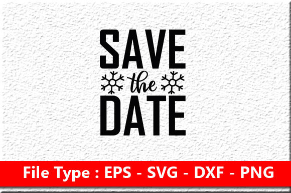 Print on Demand: Wedding Svg Design ,Save the Date Graphic Print Templates By Mou_graphics