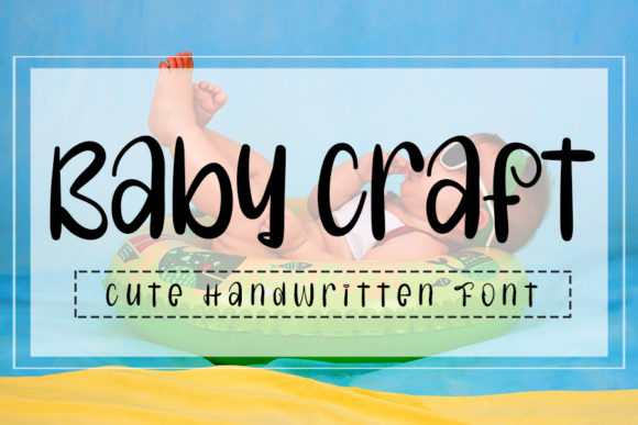 Print on Demand: Baby Craft Script & Handwritten Font By Inermedia STUDIO
