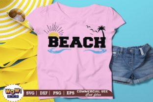 Print on Demand: Beach Graphic Crafts By Wowsvgstudio