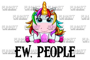 Ew People 2 Unicorn  Graphic Illustrations By Fundesings