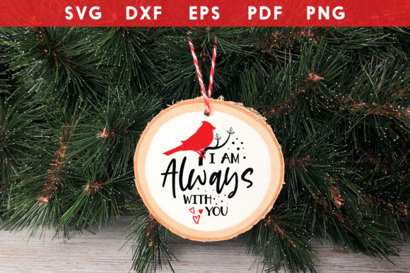 Download I Am Always with You, Cardinal SVG SVG Cut Files