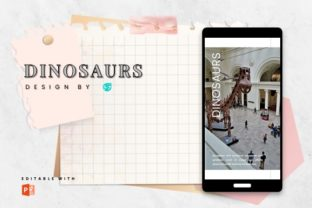 Instagram Story Template - Dinosaurs Graphic Graphic Templates By 57creative 1