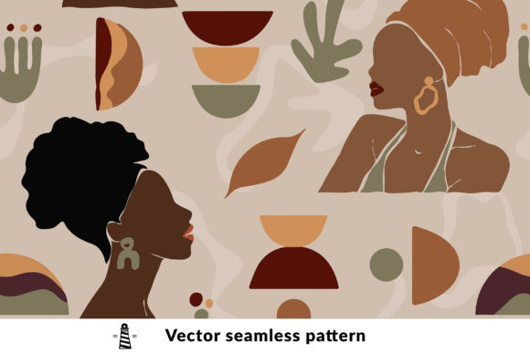 Print on Demand: Kwanzaa Seamless Pattern Graphic Patterns By northseastudio