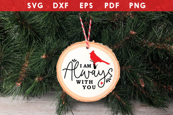Ornament SVG, I Am Always with You Graphic Crafts By CraftlabSVG