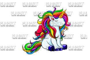 Unicorn Lovers  Graphic Illustrations By Fundesings