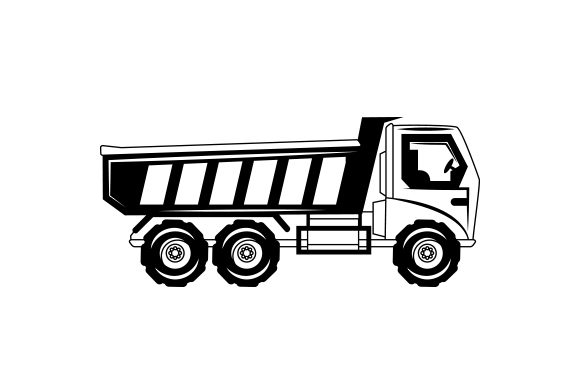 Dump Truck Cut File Download