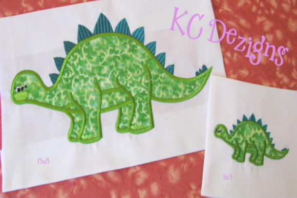 Cute Dinosaur 3 Dinosaurs Embroidery Design By karen50