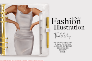 Print on Demand: Fashion Printable Illustration Graphic Illustrations By TheGGShop