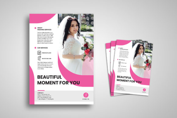 Print on Demand: Flyer Template Graphic Print Templates By uicreativenet