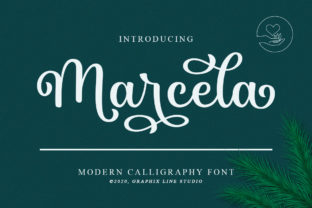 Print on Demand: Marcela Script & Handwritten Font By Graphix Line Studio