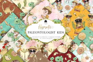 Paleontologist Pattern Dinosaur Pattern Graphic Patterns By Hippogifts