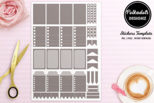 Planner Stickers Template 2021 Graphic Print Templates By Polkadots Designz