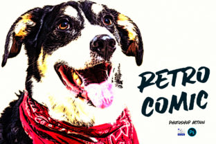 Retro Comic | PSD Action Graphic Actions & Presets By Gumacreative 3