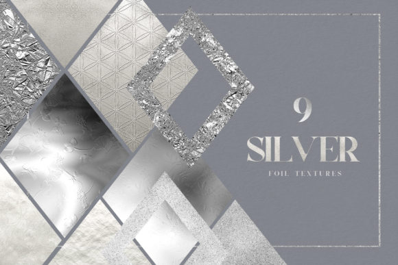 Silver Foil Digital Pack Gold Texture Graphic Textures By Busy May Studio