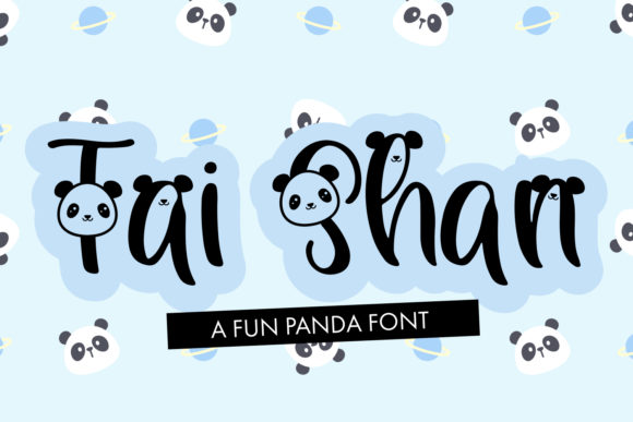 Print on Demand: Tai Shan Display Font By freelingdesignhouse