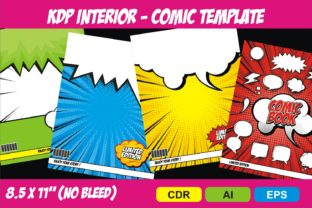 Print on Demand: KDP Interior Comic Template Story Graphic KDP Interiors By edywiyonopp