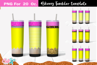 Pencil 20 Oz. Skinny Tumbler Wrap Graphic Print Templates By Cute files