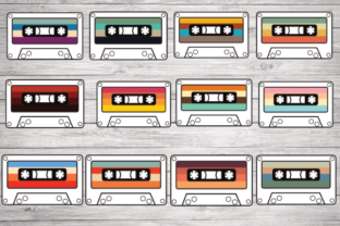 Print on Demand: Cassette Tape, Vintage Cassette Graphic Crafts By rayan