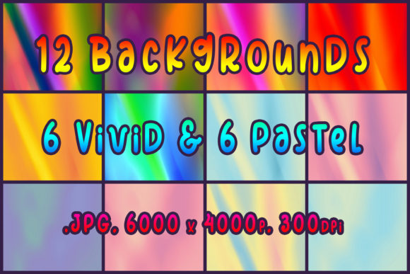 12 Backgrounds Graphic Backgrounds By vessto