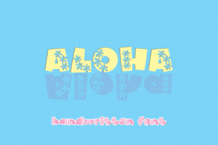 Print on Demand: Aloha Decorative Font By WADLEN