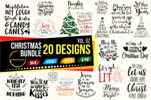 Print on Demand: Christmas Bundle Vol.2 - Winter Quotes Graphic Crafts By Uramina