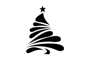 Christmas Tree Decor Graphic Crafts By Art Queen