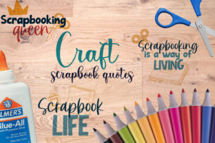 Craft, Scrapbook Quotes Graphic Crafts By Firefly Designs