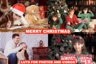 LUTs Christmas for Photos and Videos Graphic Actions & Presets By Visual Filters