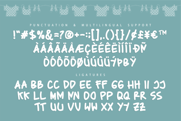 Baby Marker Font Preview