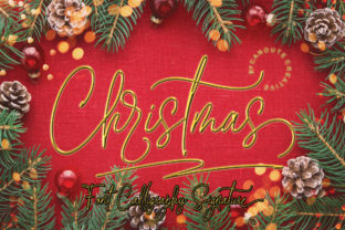 Print on Demand: Christmas Script & Handwritten Font By Canoute Creative