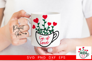 Print on Demand: Cup of Love Graphic Crafts By Christine Fleury