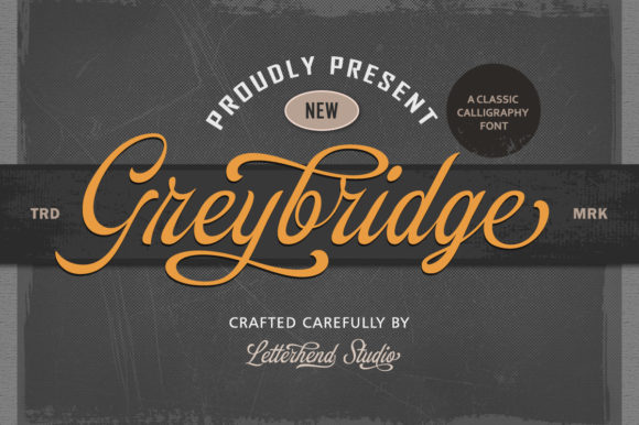 Print on Demand: Greybridge Script & Handwritten Font By letterhend