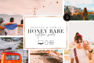 HONEY BABE - Lightroom Presets Graphic Actions & Presets By Lovoos Studio