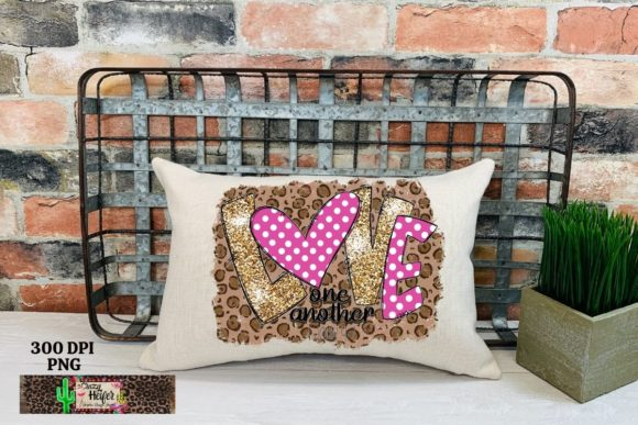 Love One Another Valentine's Day Dye Sub Graphic Item